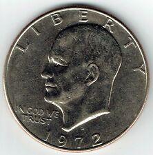 "1972-D Eisenhower Dollar ""Circulated"" US Mint Coin Ike"
