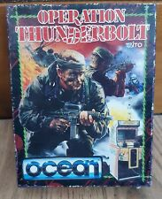 Operation Thunderbolt. Ocean Games. Commodore 64 / 128 Cassette. Boxed. Manual
