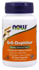 Gr 8 Dophilus - Enteric Coated Now Foods 60 VCaps