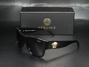 VERSACE VE4275 GB1 81 Black Polarized Grey 58 mm Men's Sunglasses