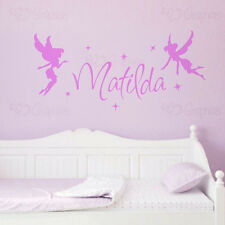 Personalised Name Fairy Wall Art Girls Room Childrens Kids Fairies Sticker