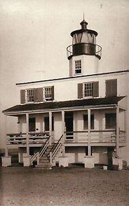 Lot of 9 Postcards Lighthouses North Carolina Michigan Florida etc Standard B&W
