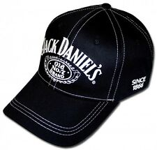 Jack Daniels No. 7 Hat Black Cap Whiskey Tennessee Licensed NEW Jack Lives Here