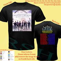 CASTING CROWNS TOUR 2019 Concert Album Shirt Adult S-5XL Youth Babies Toddler