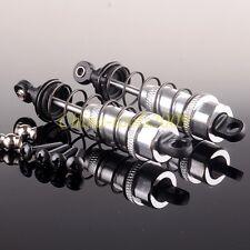 SILVER 2P Aluminum Oil Adjustable Shocks RC 1:10 90mm For TAMIYA CC01 HPI HSP