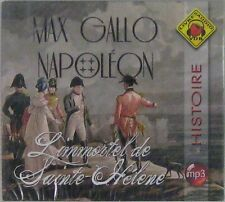 Max Gallo Napoléon L'immortel de Sainte-Hélène Livre Audio VDB MP3