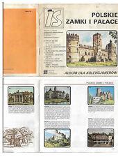 POLAND  -  Collector's album; Polish castles and palaces