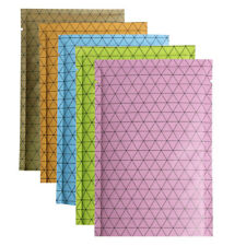 Colorfur Flat Aluminum Mylar Foil Open Top Bags Heat Seal Vacuum Storage Pouches