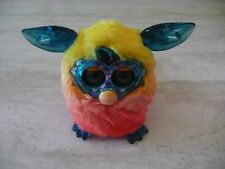 **HASBRO CRYSTAL FURBY BOOM ORANGE YELLOW OMBRE INTERACTIVE ELECTRONIC PET TOY**