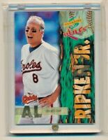 1995 Score Rules Insert  #SR18 CAL RIPKEN JR Baltimore Orioles HOF