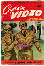 CAPTAIN VIDEO #4 1.8 OFF-WHITE PAGES GOLDEN AGE