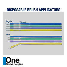 Dental Disposable Composite Regular Brush Applicators 500 pcs