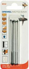 MOTO-SAW 5 x Hoja de sierra madera y plasticos (pequeños angulos) DREMEL MS52