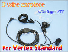 3 wire Earpiece PTT for YAESU VX-1R VX-2R VX-3R  FT-60R