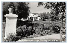 CALIFORNIA CALISTOGA PATTERSON PHOTO 14C 30 DR AALDERS HOT SPRINGS CIRCA 1929