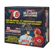 2017 Bowman Baseball 24ct Retail Box