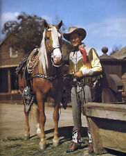 ROY ROGERS AND TRIGGER 8X10 CELEBRITY PHOTO PICTURE 1