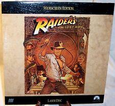 "Paramount Laserdisc - ""Raiders Of The Lost Ark"" widescreen - Gatefold Sleeve!"