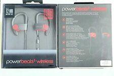New Beats by Dr. Dre Powerbeats3 Wireless In-Ear Headset Black/Red TEN rrp £169.