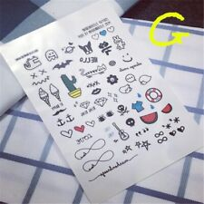 2017 Hot Sale Tattoo Men Waterproof Paragraph Cactus Tool Styling Designs cv1