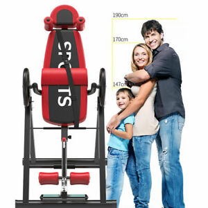 Therapy Exercise Fitness Align Bench Folding Gravity Inversion Table Home Back