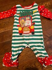 penelope plumm christmas baby outfit 3 months