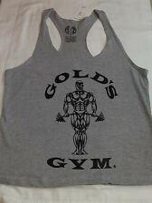Gold's Gym Classic Joe Stringer Tank Top - Dark Gray size Small