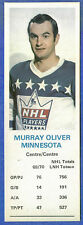 1970-71 Dad's Cookies - MURRAY OLIVER - Minnesota (ex)