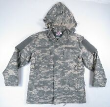 US Army Propper Cold Weather Digital Camo Field Coat Parka With Liner Mens M
