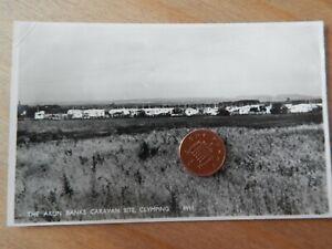 Vintage RP Postcard  Arun Banks Caravan Site Clymping 8911 W Sussex