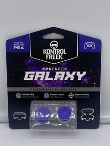 Kontrol Freek PS4 & PS5 Controller Thumb Grips Galaxy  - Purple