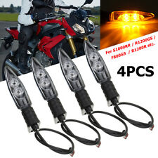 4x Motorcycle Turn Signal Indicator LED Light For BMW S1000RR HP4 F800GS R1200GS
