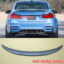 M4 High Kick Style Trunk Spoiler (ABS) Fits 12-18 BMW F30 (3-Series) F80 (M3)
