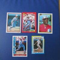 TIM RAINES  MONTREAL EXPOS  (10 DIFF) 1990 Odd Cards  LOT 2  Yankees White Sox