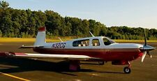 M-20-R Mooney Ovation Bravo M20 Airplane Desk Wood Model Small New