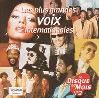 Compilation CD Les Plus Grandes Voix Internationales - Europe
