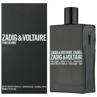 This is Him Zadig & Voltaire 3.4 oz 100 ml EDT Spray For Men New In Box