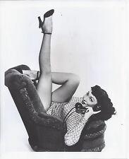 1950s PUBLICITY PHOTO TULARA LEE PIN UP BURLESQUE TEASE SHOW GIRL