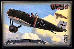 Rare-Plane Detective Presents Wingnut Wings #32065 1/32 JUNKERS D.1 Kit!