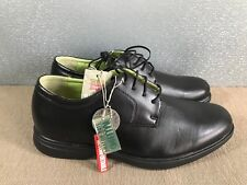 BNWT Men/Boys Size 6 Rivers Brand Black Lace up Leather Dress or Casual Shoes