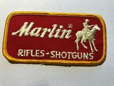 MARLIN FIREARMS CLOTH PATCH BEAUTIFUL NEVER SEWN