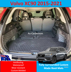 Custom Made Trunk Boot Mats Liner Cargo Mat Cover For Volvo XC90 2015-2021
