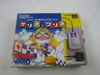 Mario and Wario with Mouse Super Famicom  SNES Japan Ver