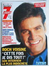 ►TELE 7 JOURS 1696/1992  - ROCH VOISINE - KIM WILDE - SONIC / SEGA - V.PARADIS