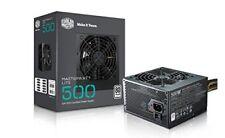 Cooler Master MasterWatt Lite 500w 230v 80plus White 120mm Fan Active PFC e