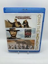 Butch Cassidy & Sundance Kid Good, Bad Ugly Missing Magnificent Seven Rare Oop!