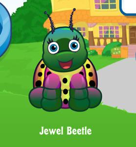 Webkinz Jewel Beetle Virtual Adoption Code Only *Messaged* Webkinz Jewel Beetle!