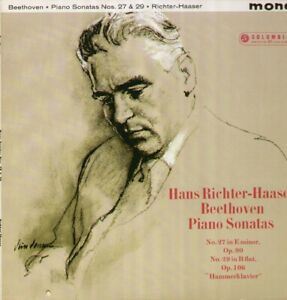 Beethoven - Hammerklavier Sonata, Richter-Haaser, Columbia SX 1762