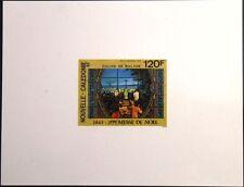 NEW CALEDONIA NEUKALEDONIEN 1993 972 DELUXE Christmette Christmas Mass Religion