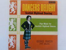 GEORGE FRASER - Dancers Delight - Scottish Highland Dancing LP